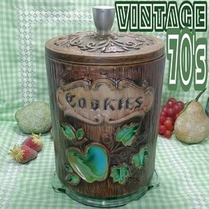 treasure craft cookue jar